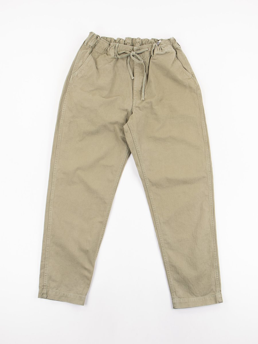 Green Used Herringbone New Yorker Pant