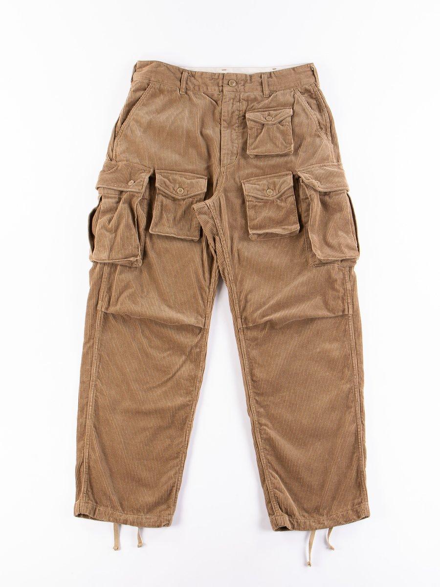 Khaki 8W Corduroy FA Pant