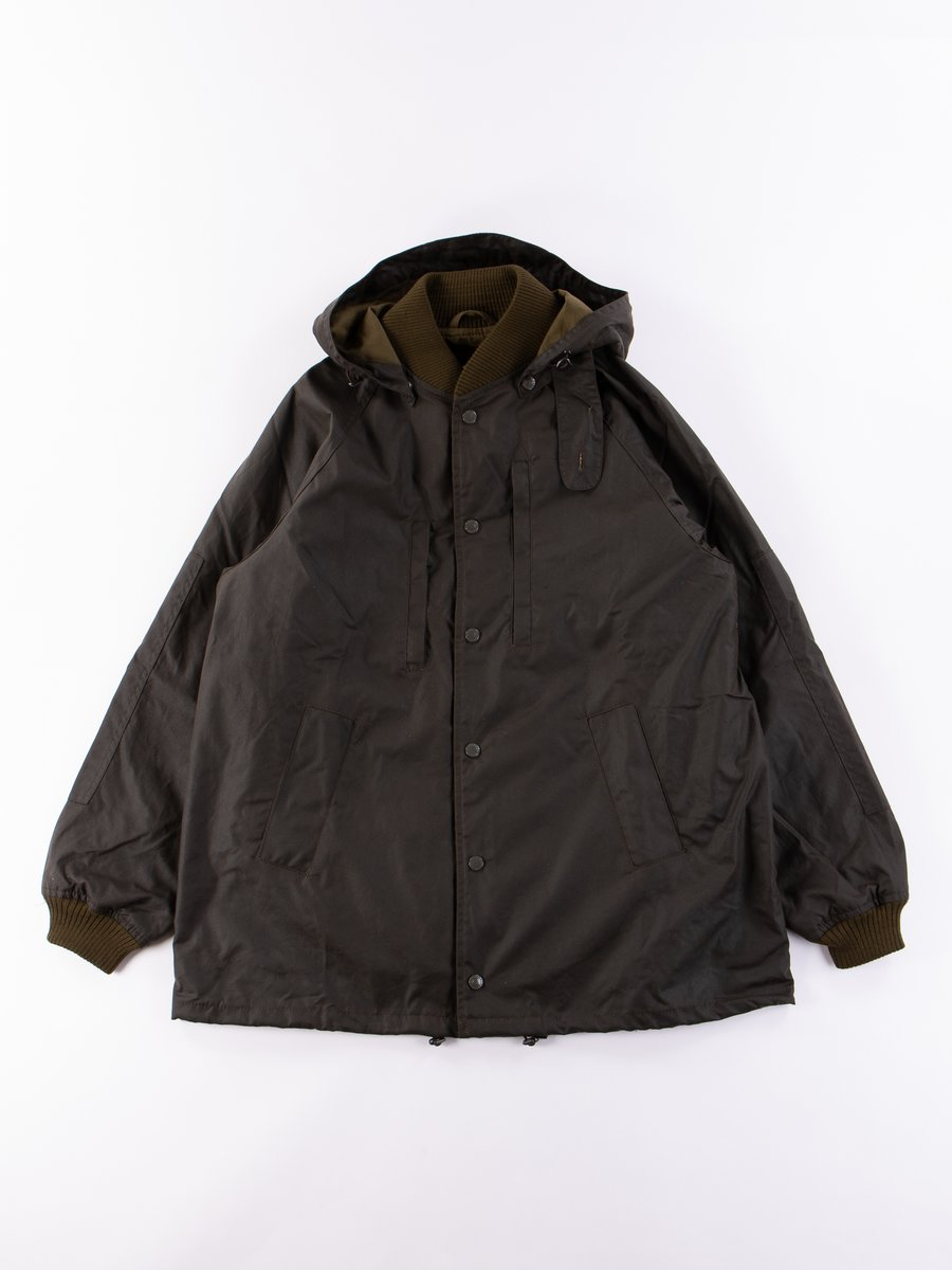 Olive Ground Wax Jacket