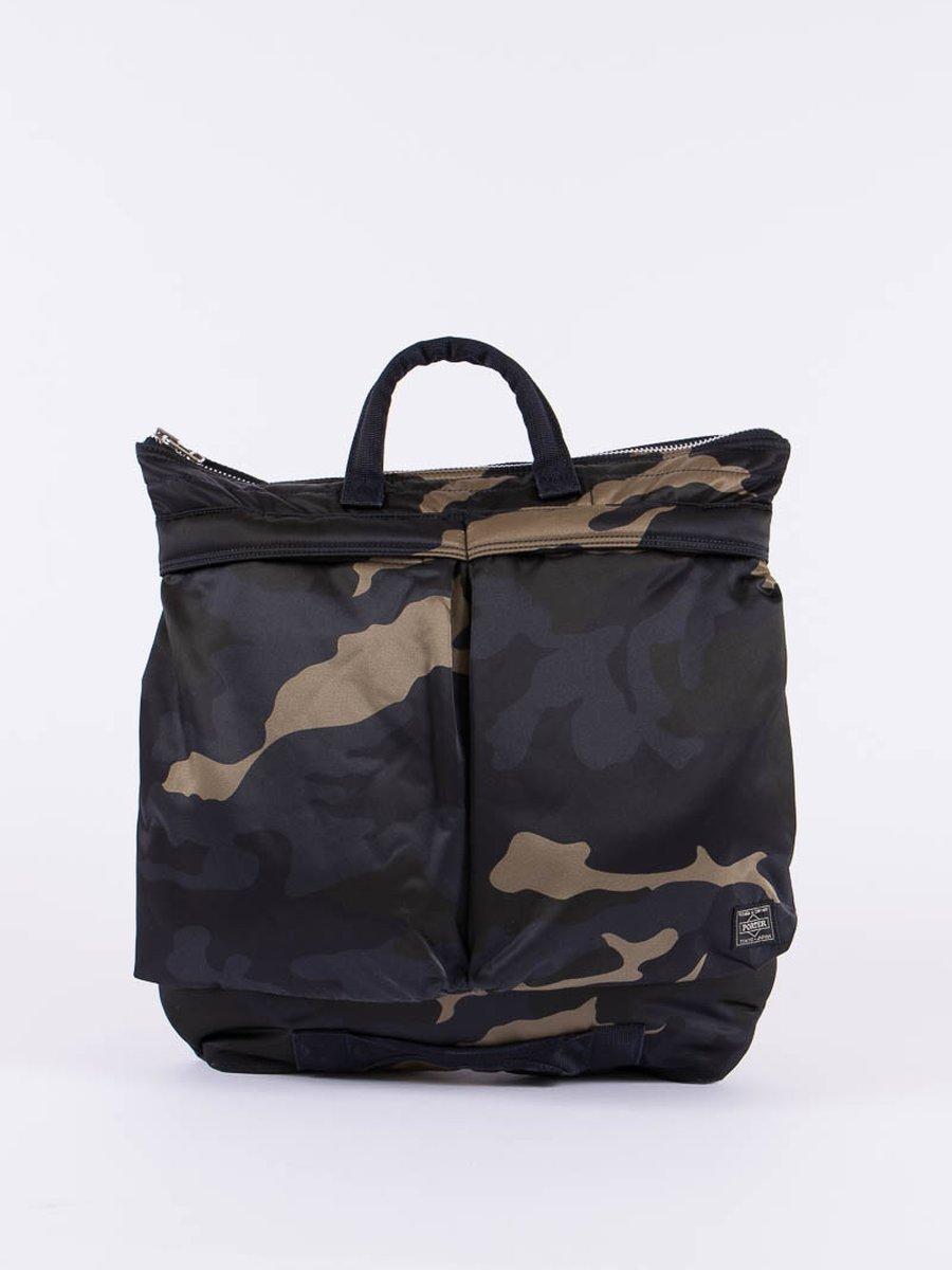 Woodland Khaki Counter Shade Helmet Bag