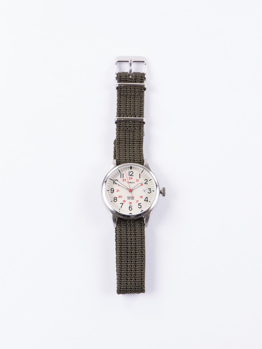 Steel/Cream w/ Slate Strap Waterbury United Watch