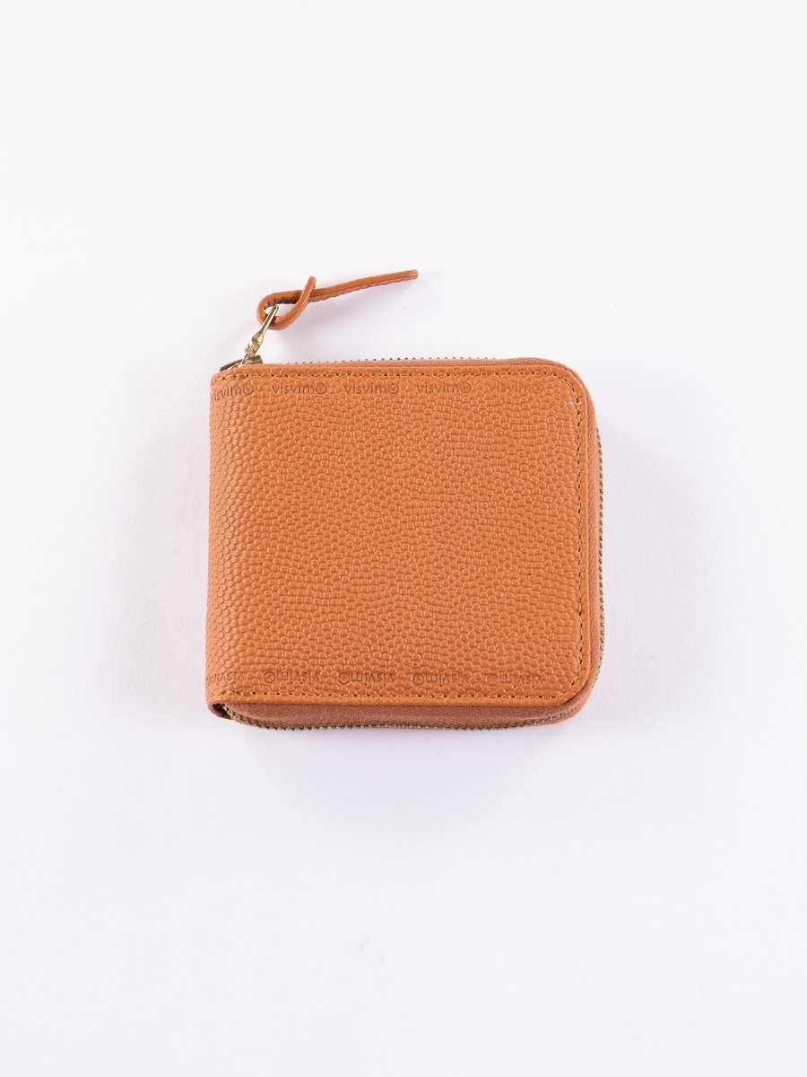 Orange Sixth Man Bi–Fold Wallet