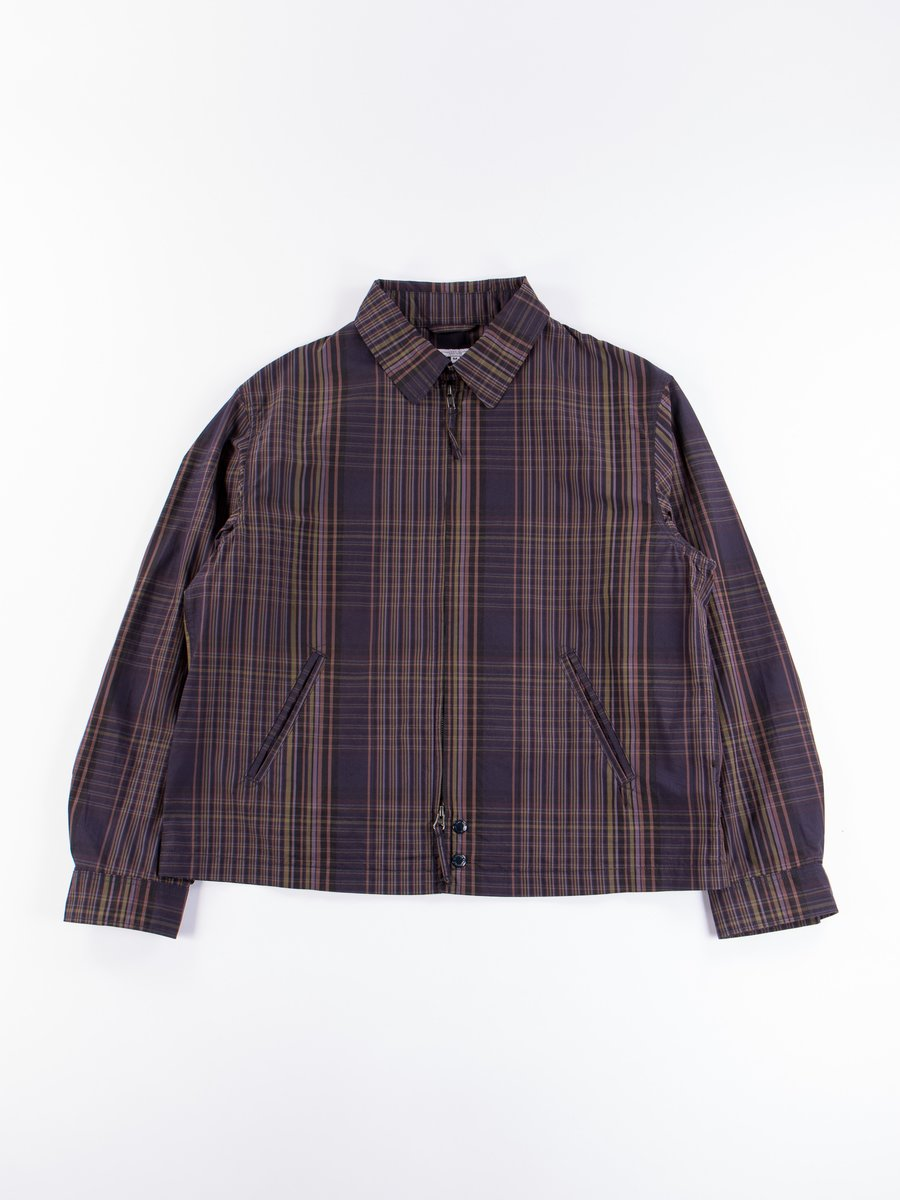 Multi Color Nyco Plaid Claigton Jacket