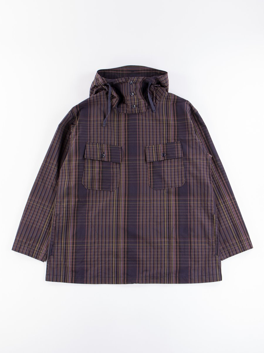 Multi Color Nyco Plaid Cagoule Shirt
