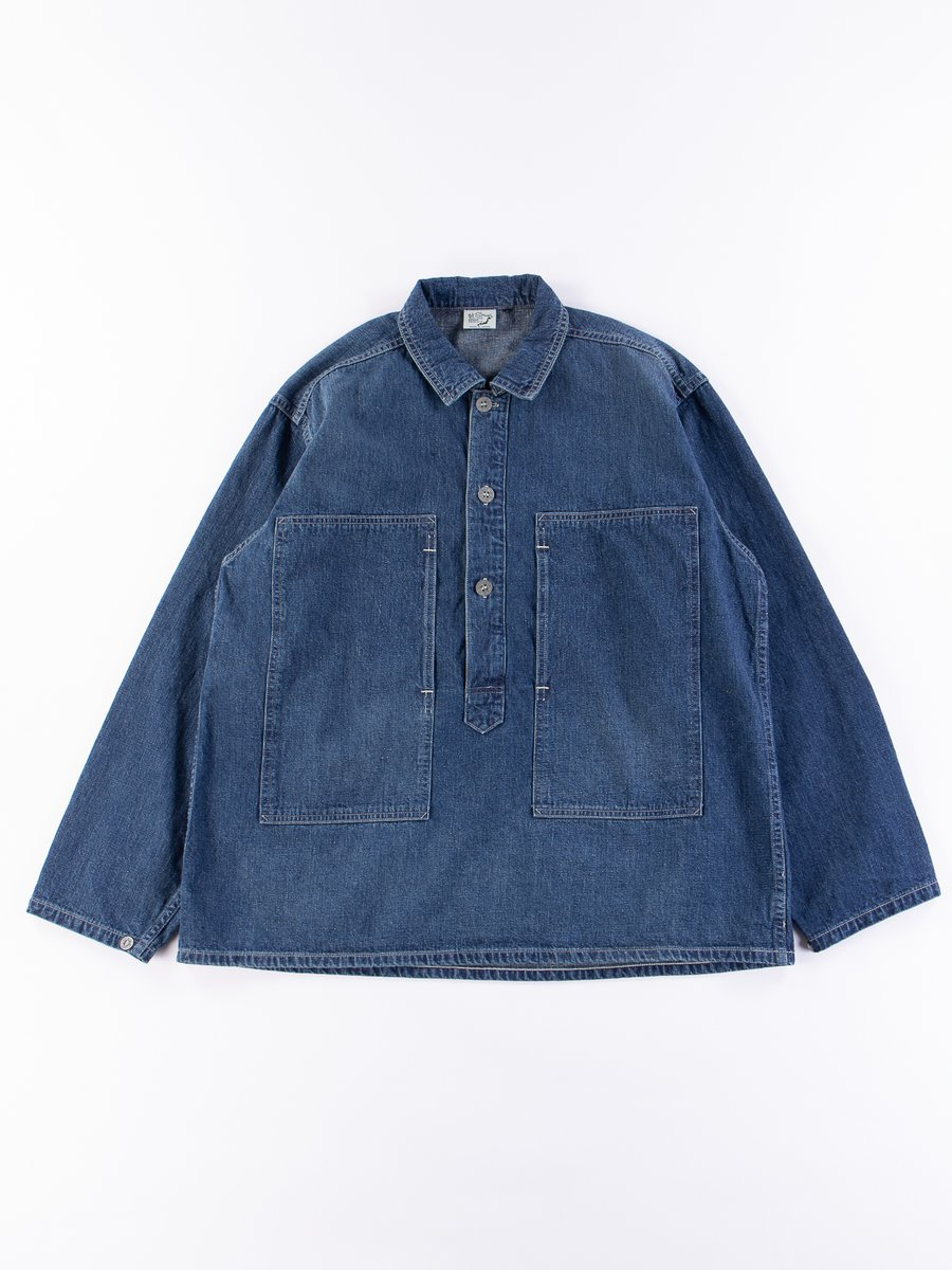 Used Denim PW Pullover Shirt Jacket