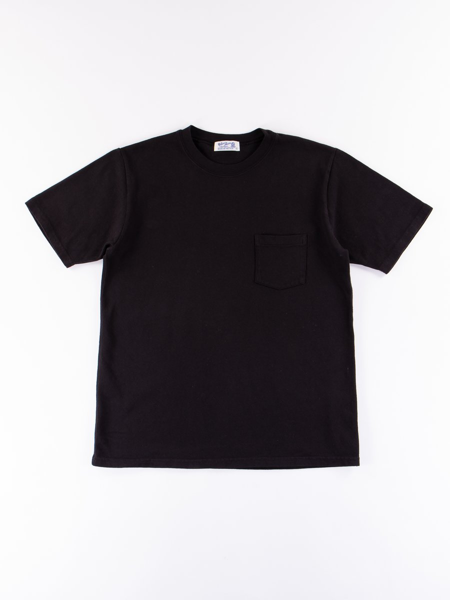 Black Heavy Oz Pocket Tee