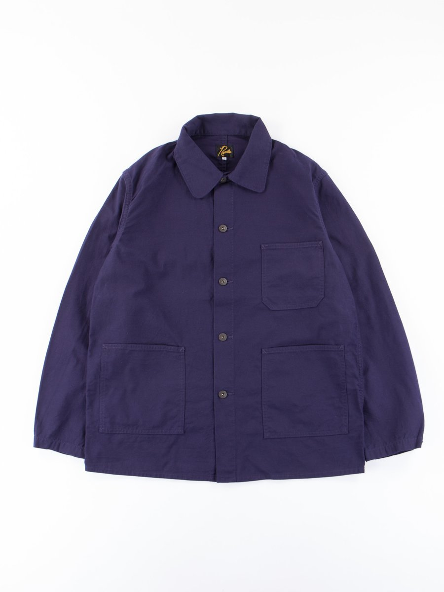 Purple Back Sateen D.N. Coverall
