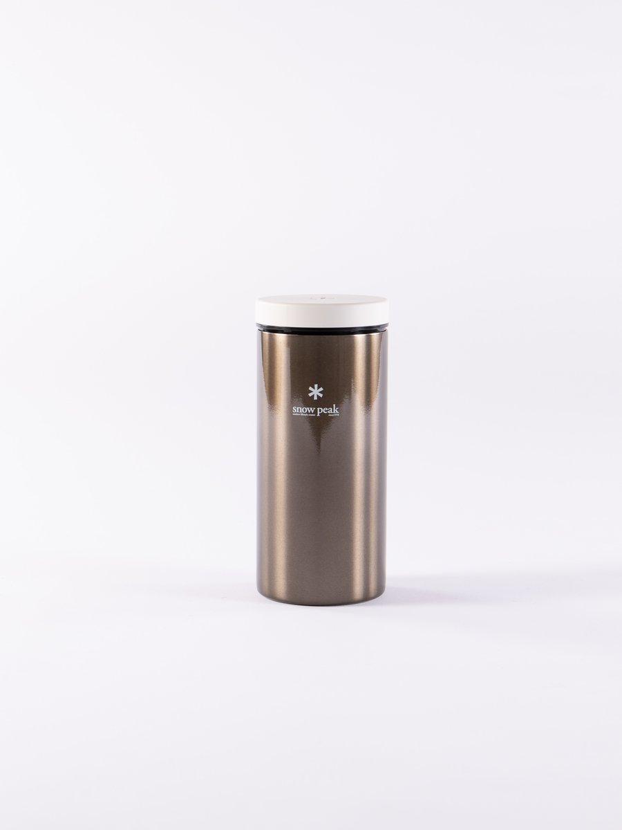 Dark Silver Kanpai Bottle 350ml