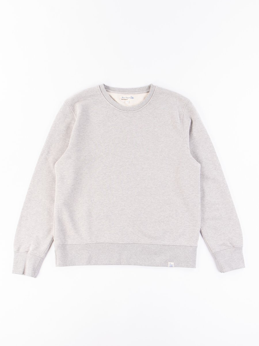 Grey Melange Good Basics CSWOS01 Oversized Crew Neck Sweater