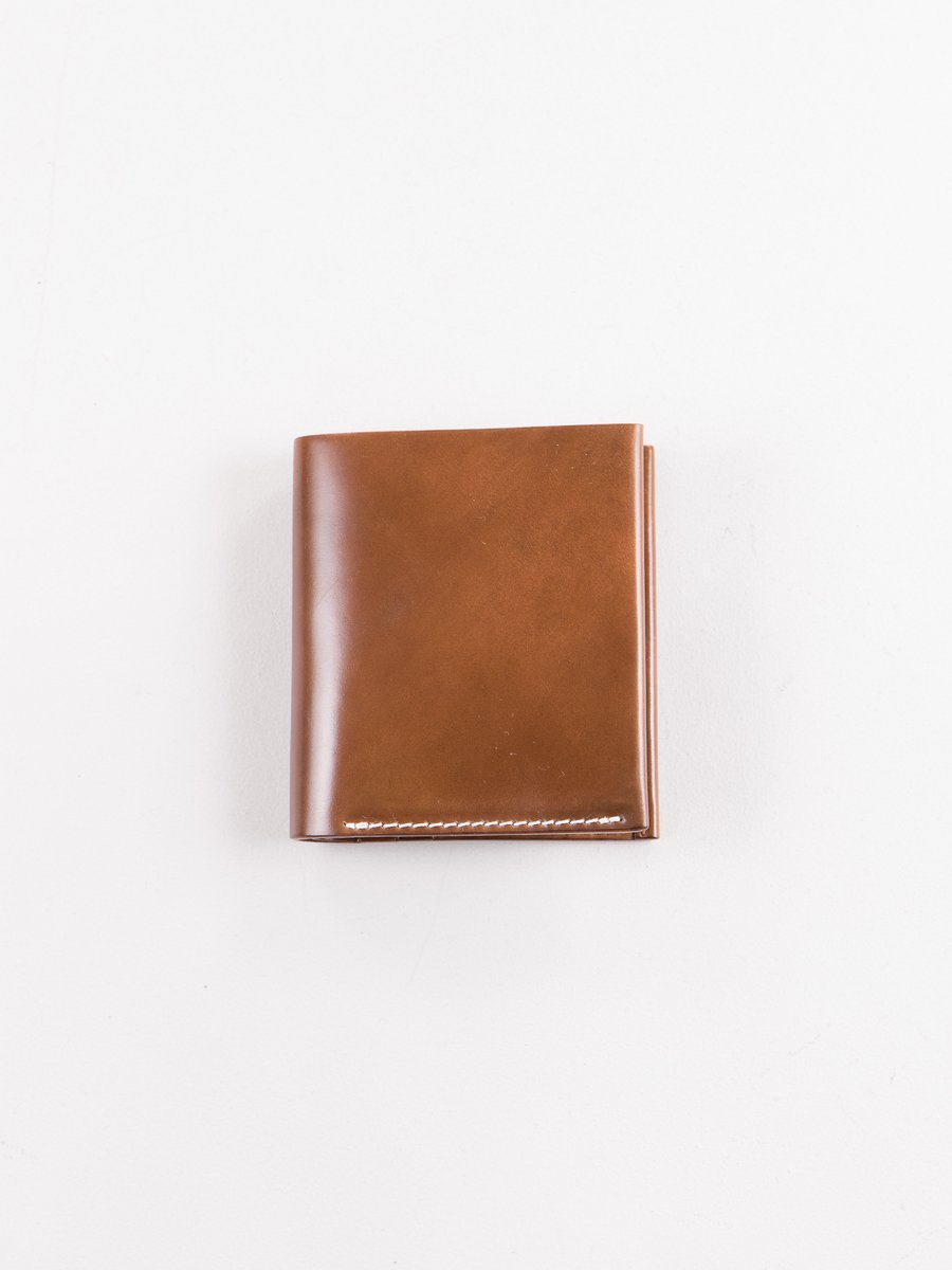 Whiskey Horween Cordovan 3–3 Wallet