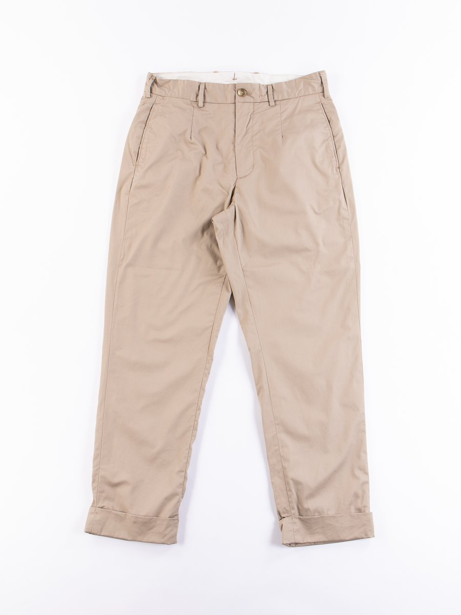 Khaki High Count Twill Andover Pant