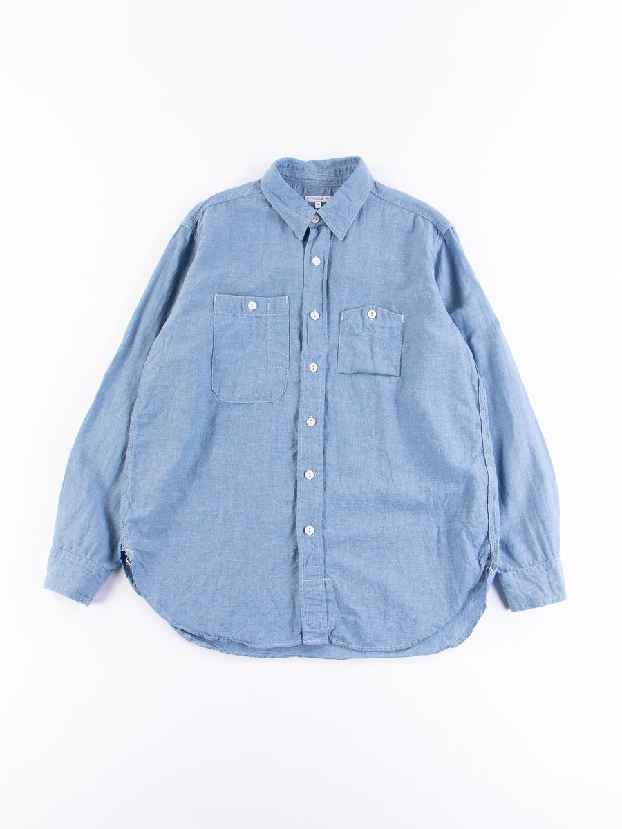 Light Blue CL Chambray Work Shirt