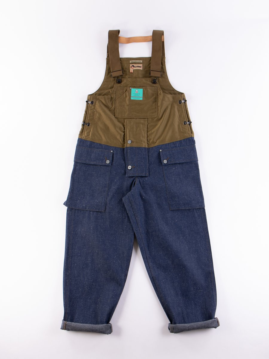 Lybro Split Denim/Army Sateen Naval Dungaree