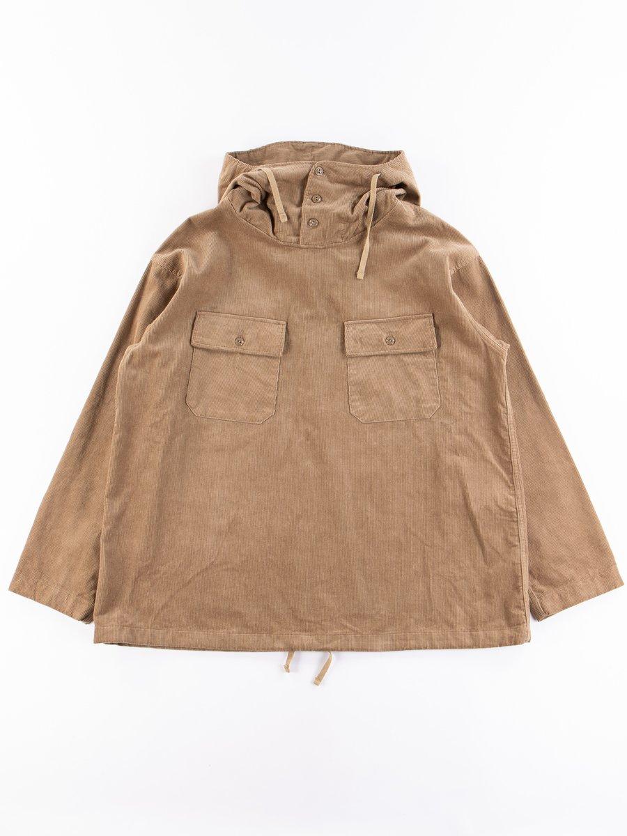 Khaki 14W Corduroy Cagoule Shirt