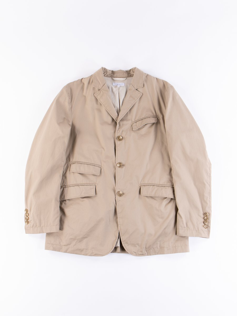 Khaki High Count Twill Andover Jacket