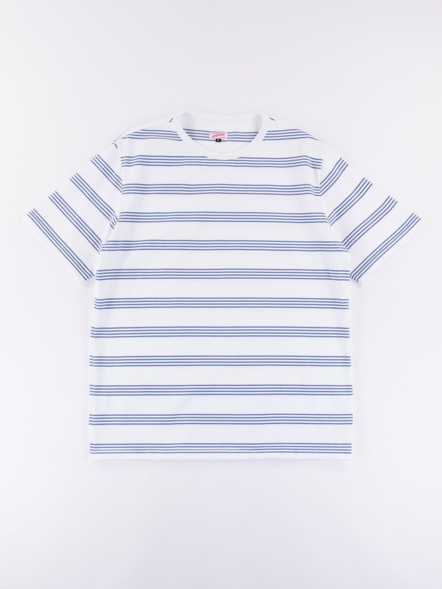 White/Blue Match Jersey T–Shirt