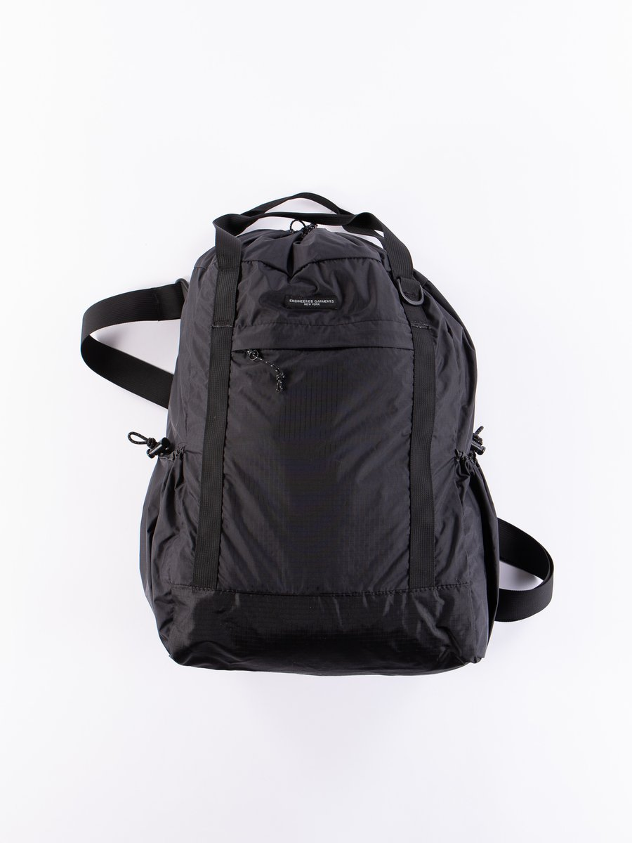 Black Nylon Ripstop UL 3 Way Bag