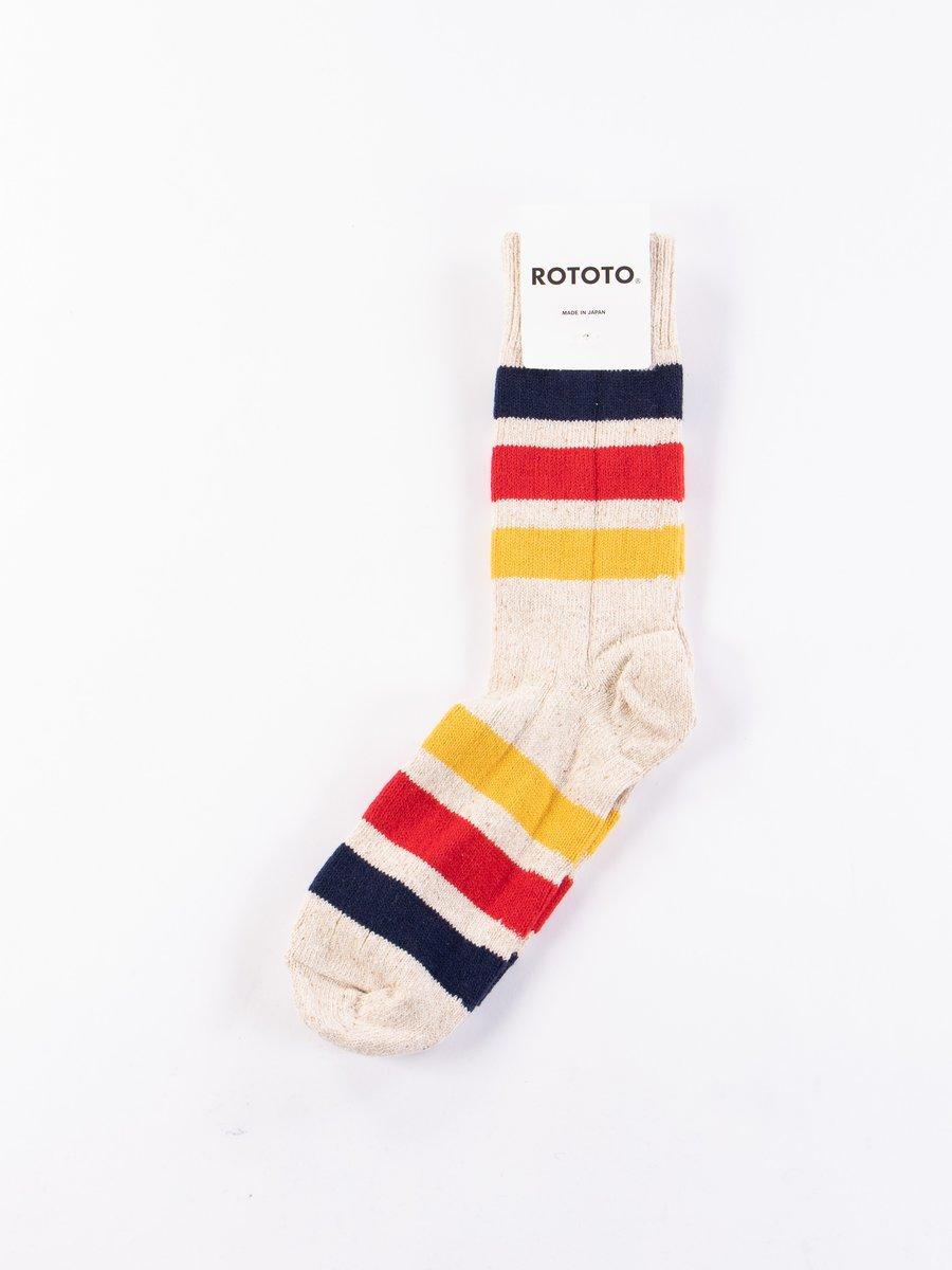 Ivory Park Stripe Socks