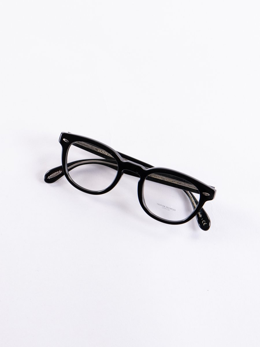 Black Sheldrake Optical Frame