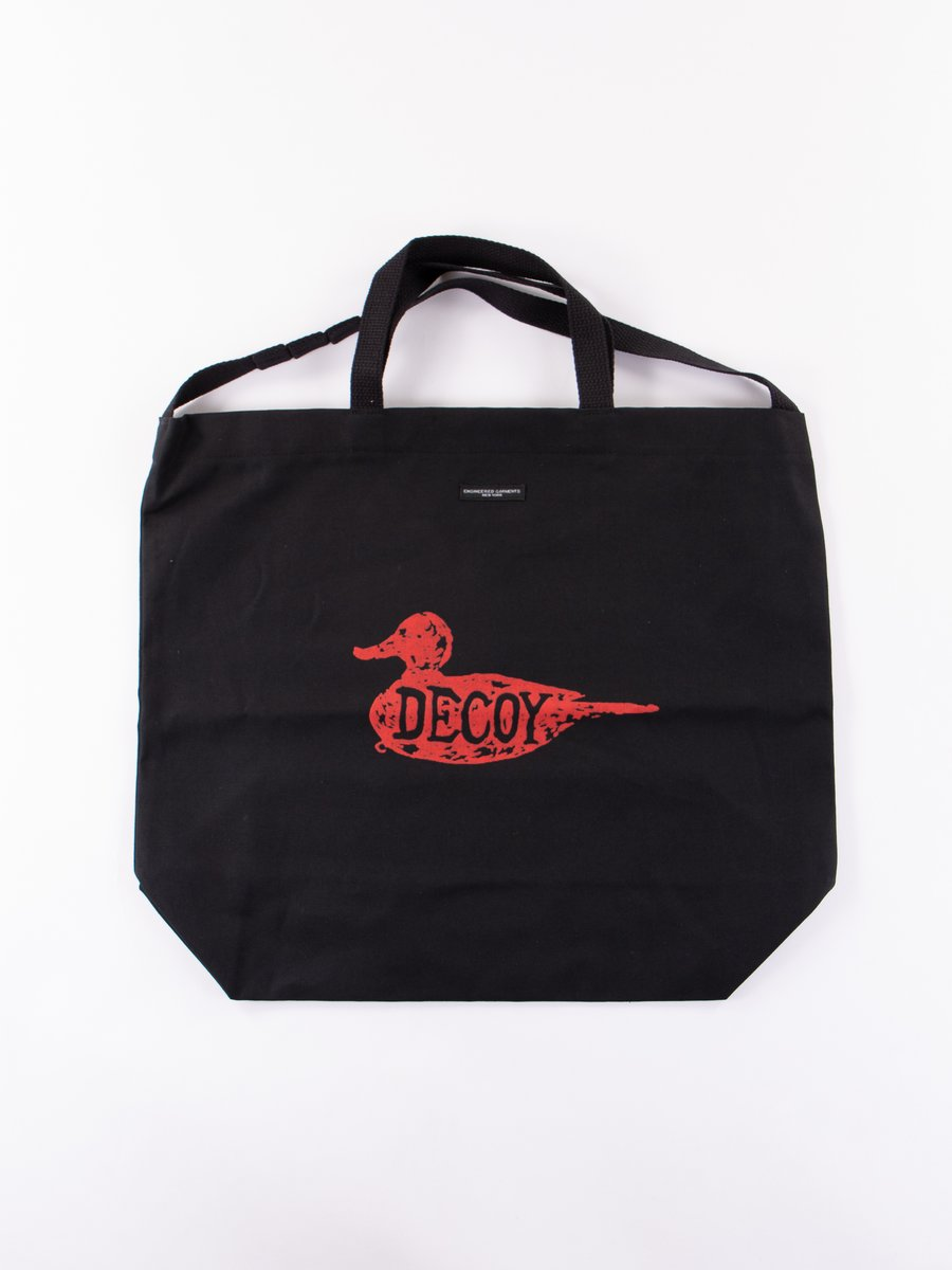 """Red """"Decoy"""" Carry All Tote"""
