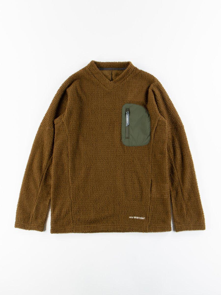 Khaki Alpha Direct Pullover