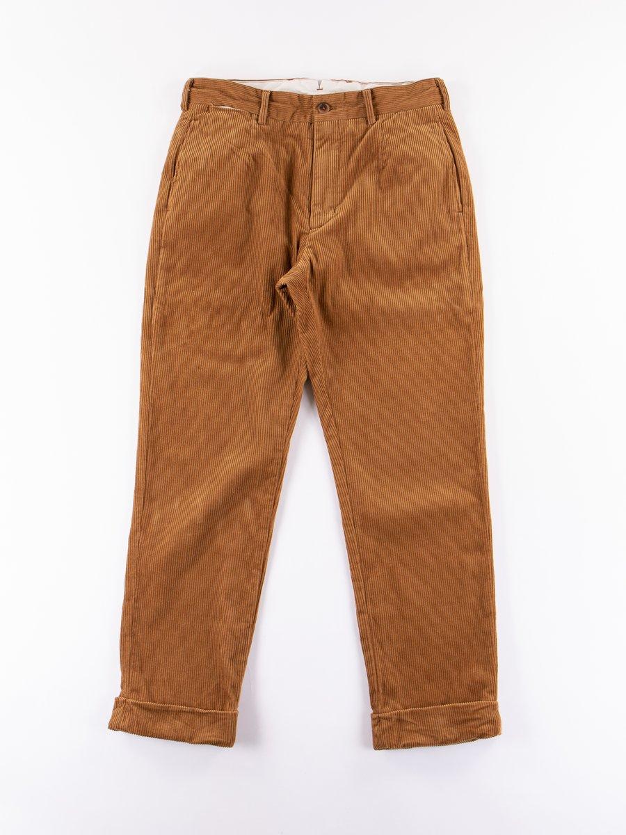 Chestnut 8W Corduroy Andover Pant