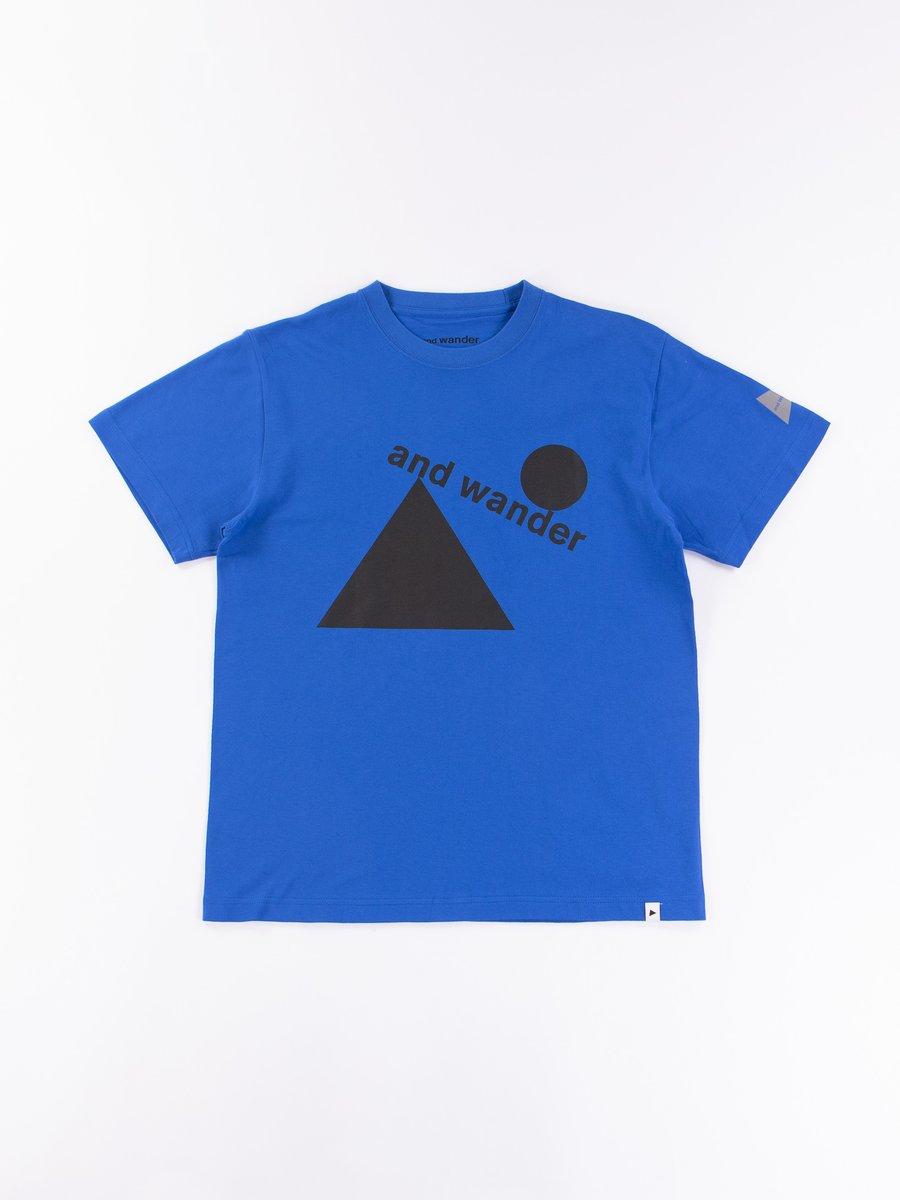 Blue Fumikazu Ohara Artwork T–Shirt