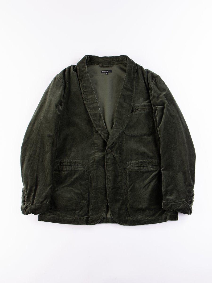 Olive Cotton Velveteen SD Jacket
