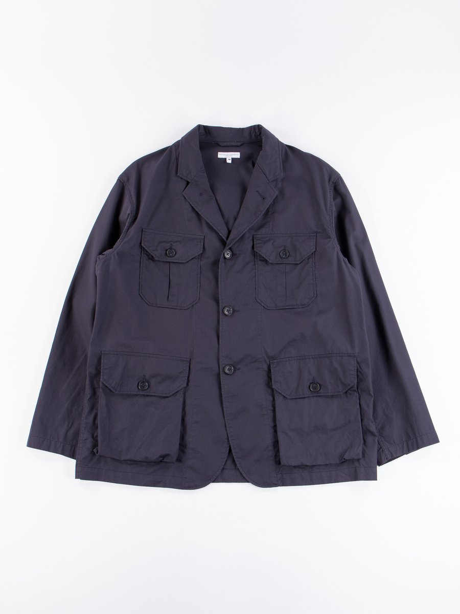 Dark Navy Highcount Twill Folk Jacket