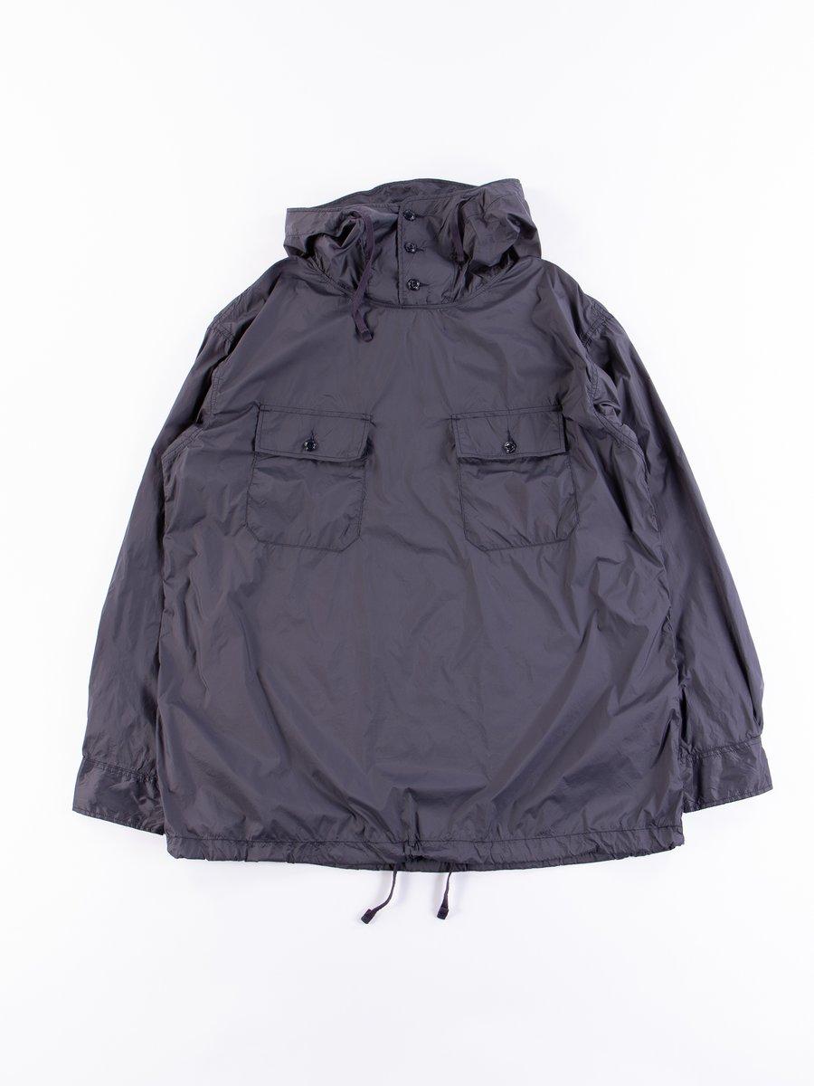 Dark Navy Nylon Taffetta Cagoule Shirt