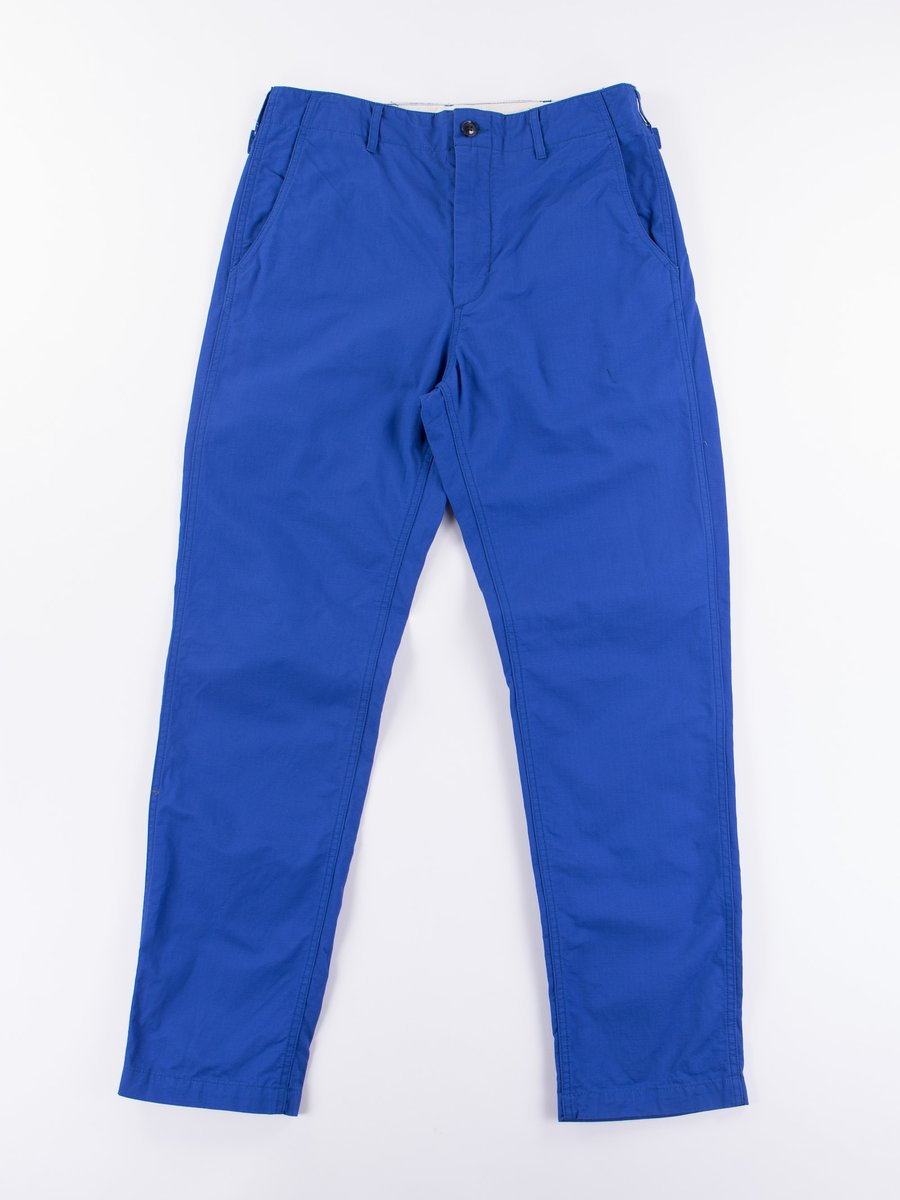 Royal Blue Cotton Ripstop Ground Pant
