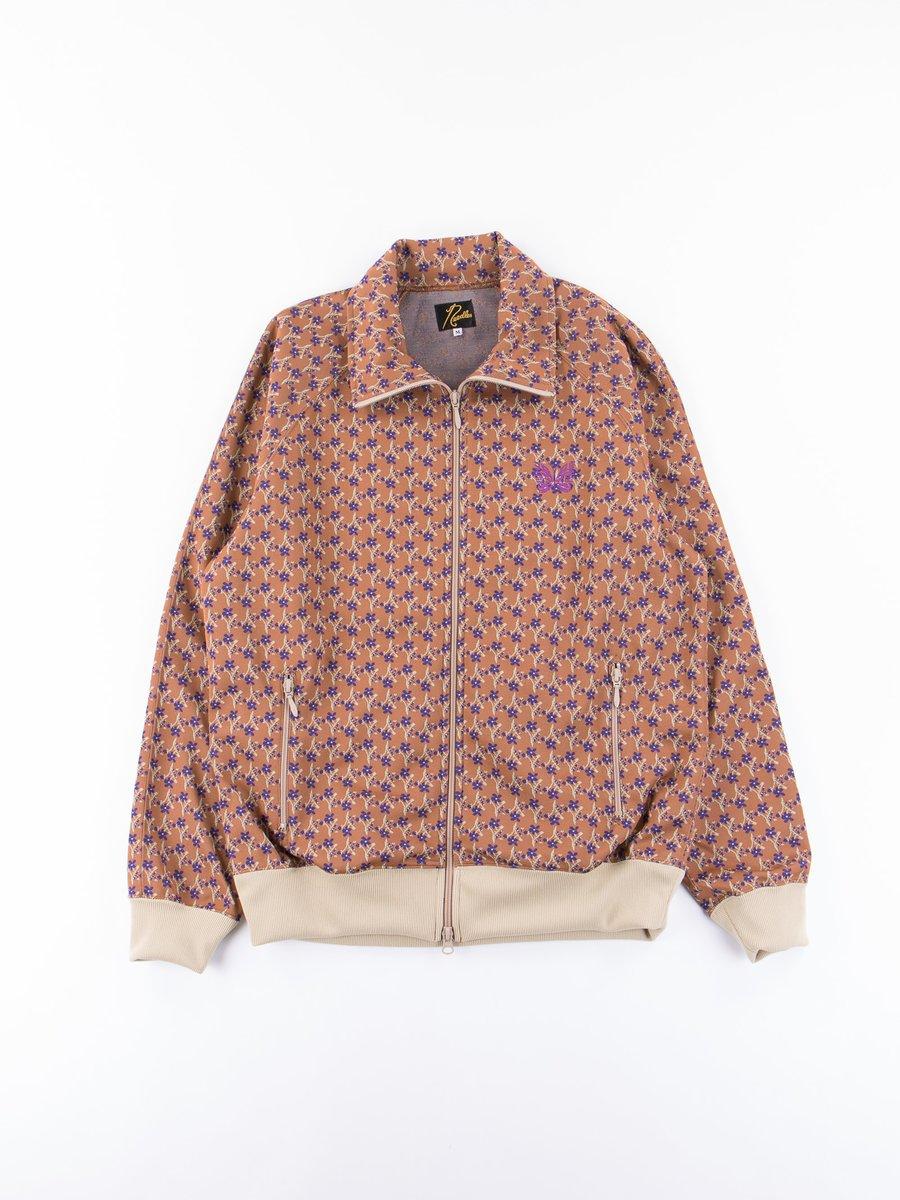 Brown Jacquard/Floret Track Jacket