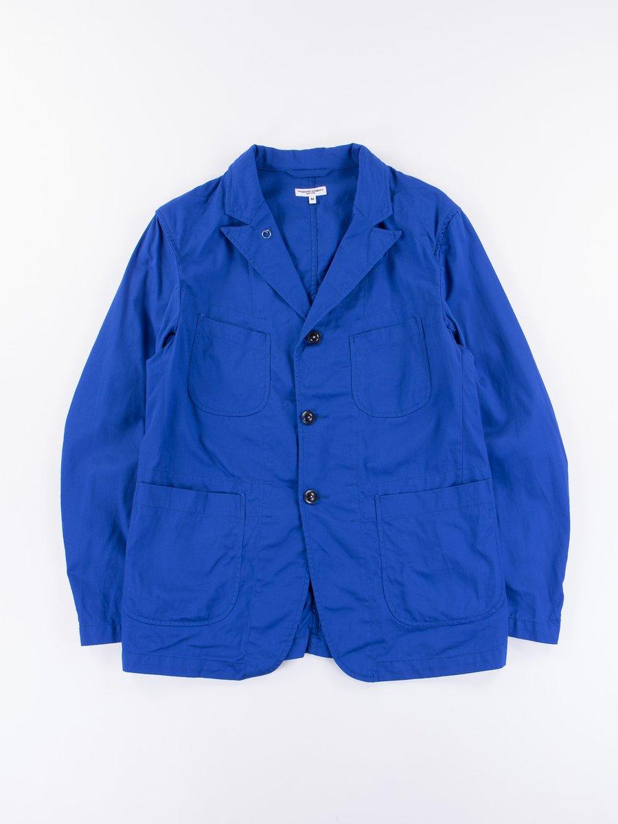 Royal Blue 7.5oz Twill Bedford Jacket