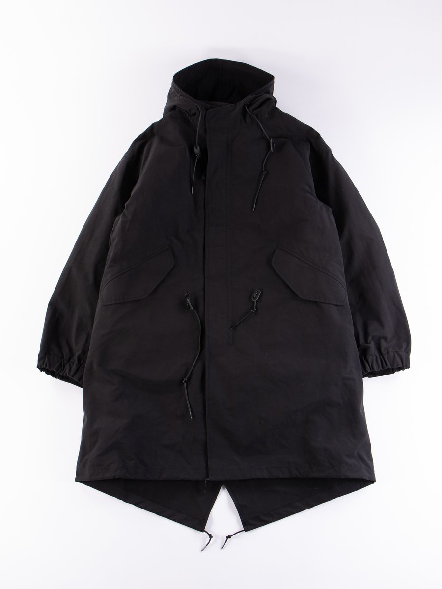 Black M–51 Fishtail Parka
