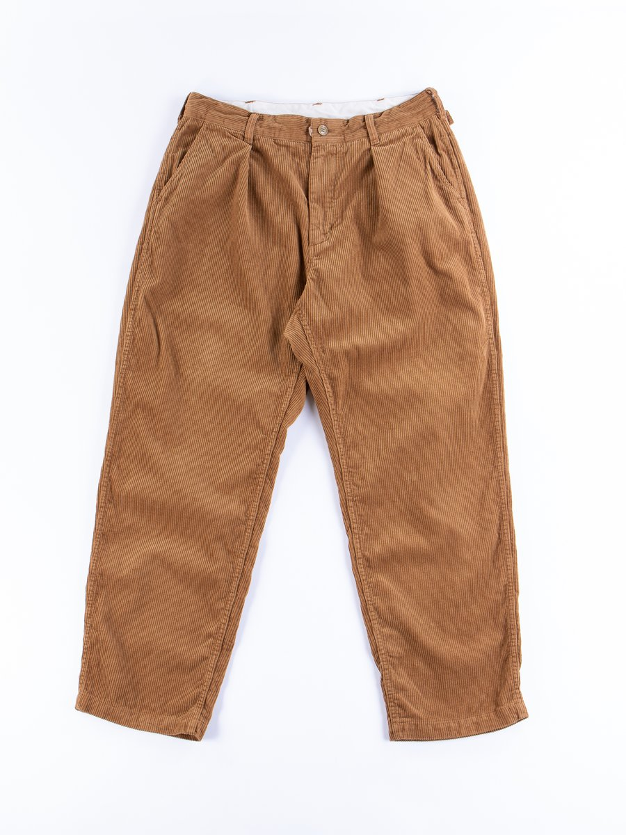 Chestnut Cotton 8W Corduroy Ground Pant
