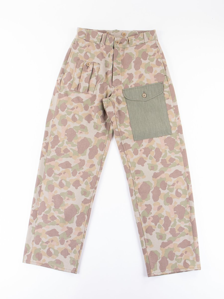 Faded Nam Camo PW Pant