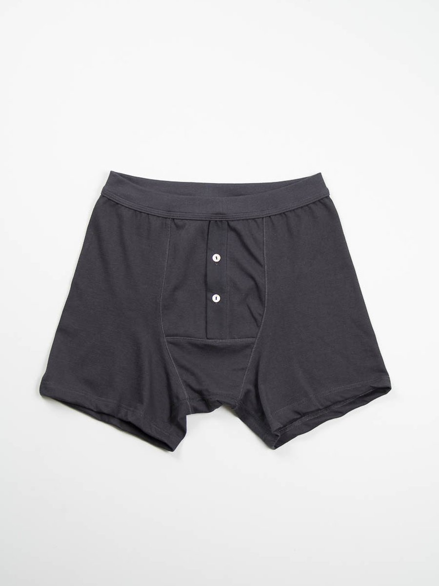 Black 255 Button Facing Underpant