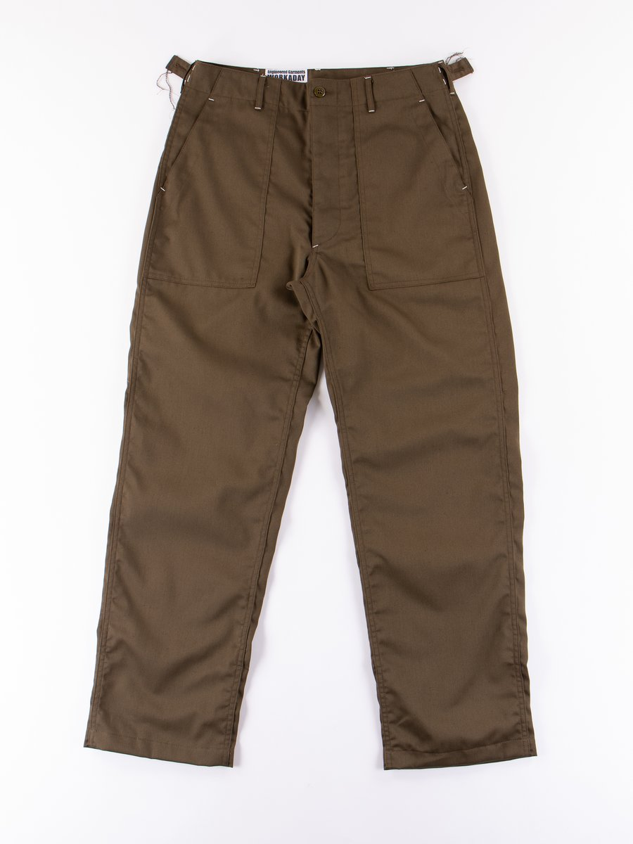 Olive Bedford Cord Fatigue Pant