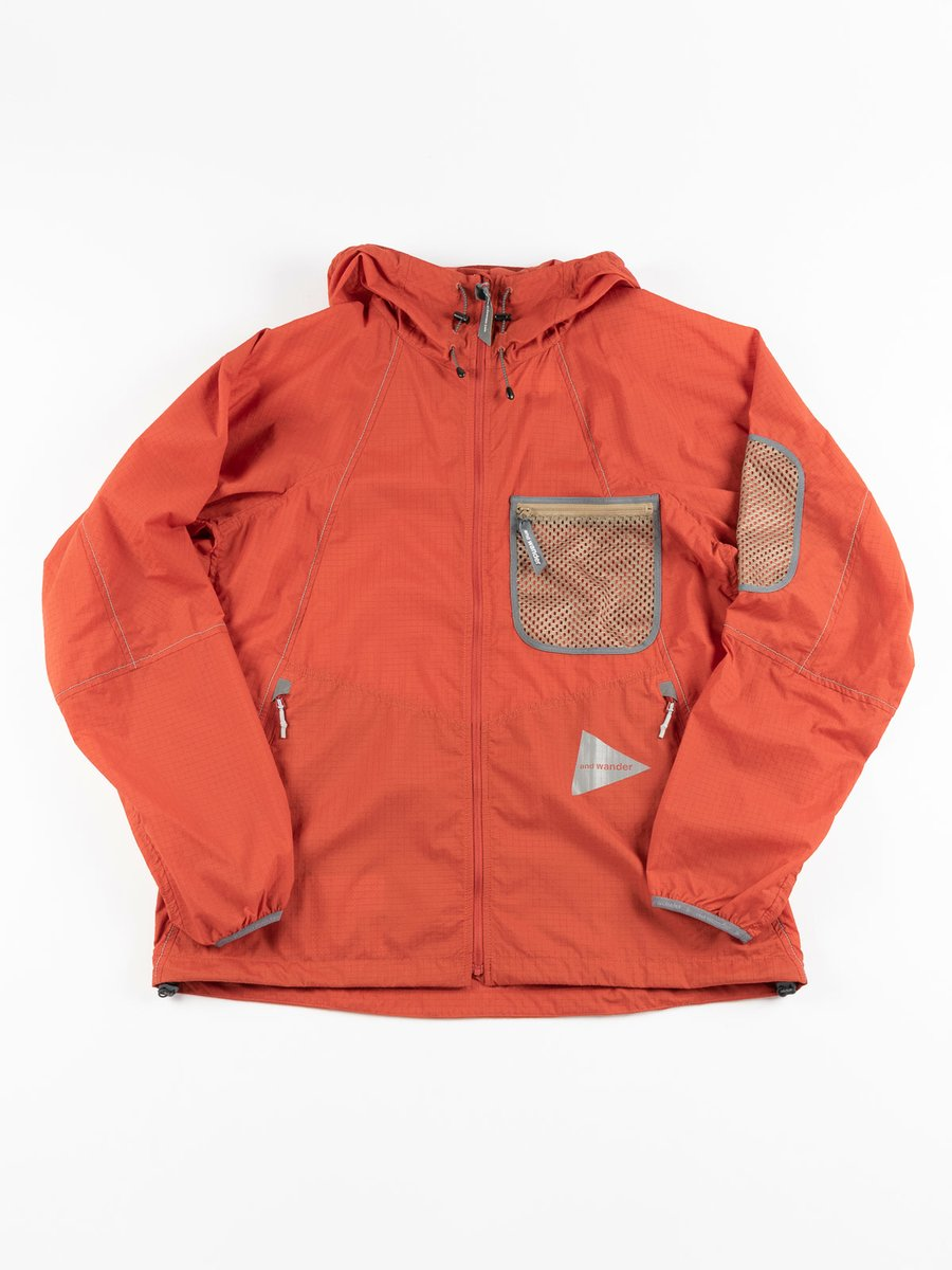 BREATHABLE RIPSTOP HOODIE RED