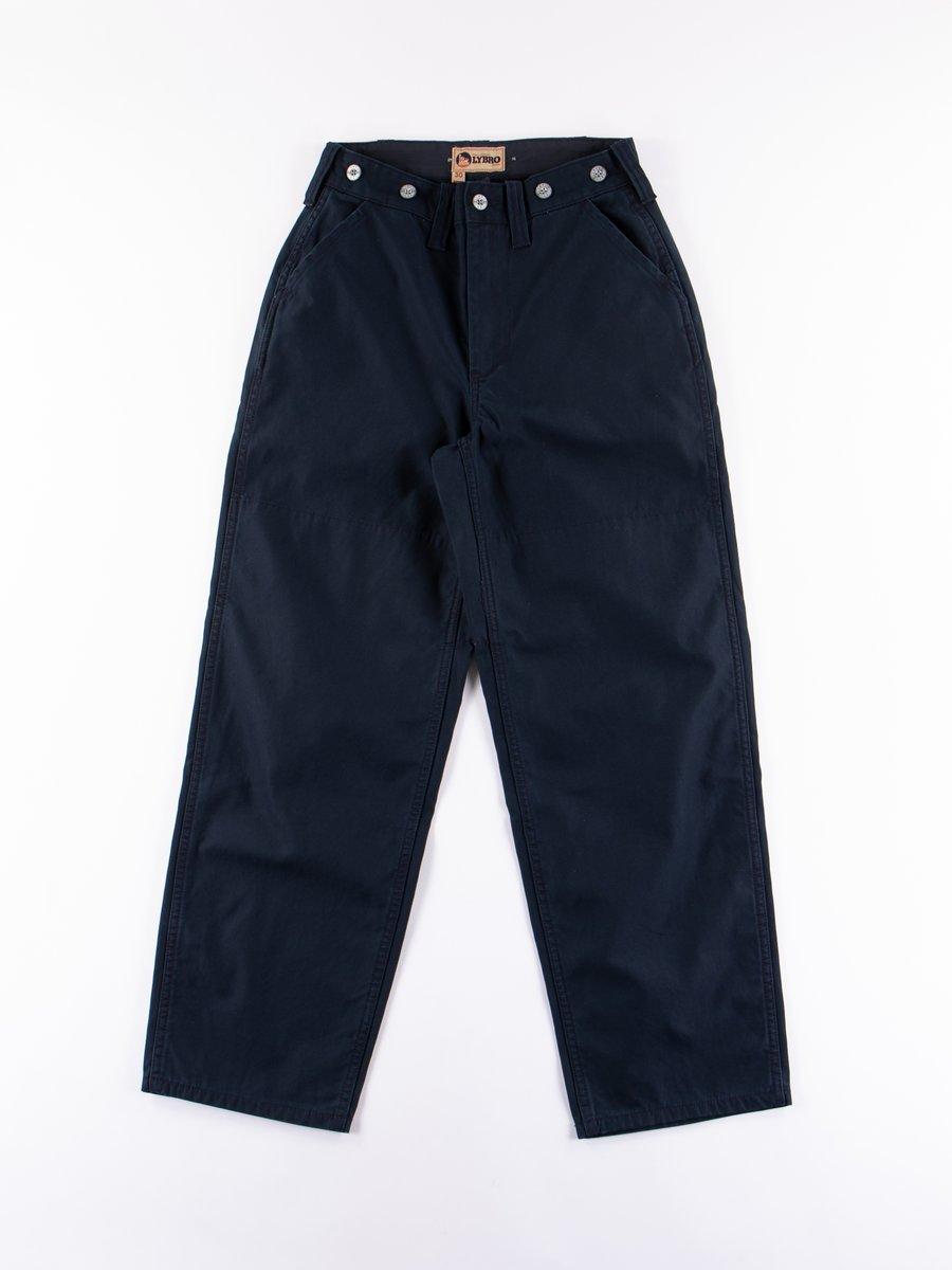 Lybro Black Navy Basic Military Pant