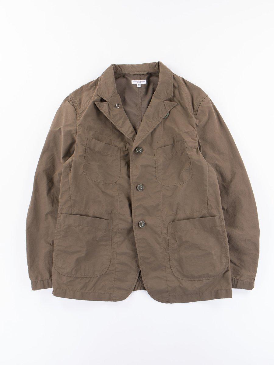 Olive 4.5oz Waxed Bedford Jacket