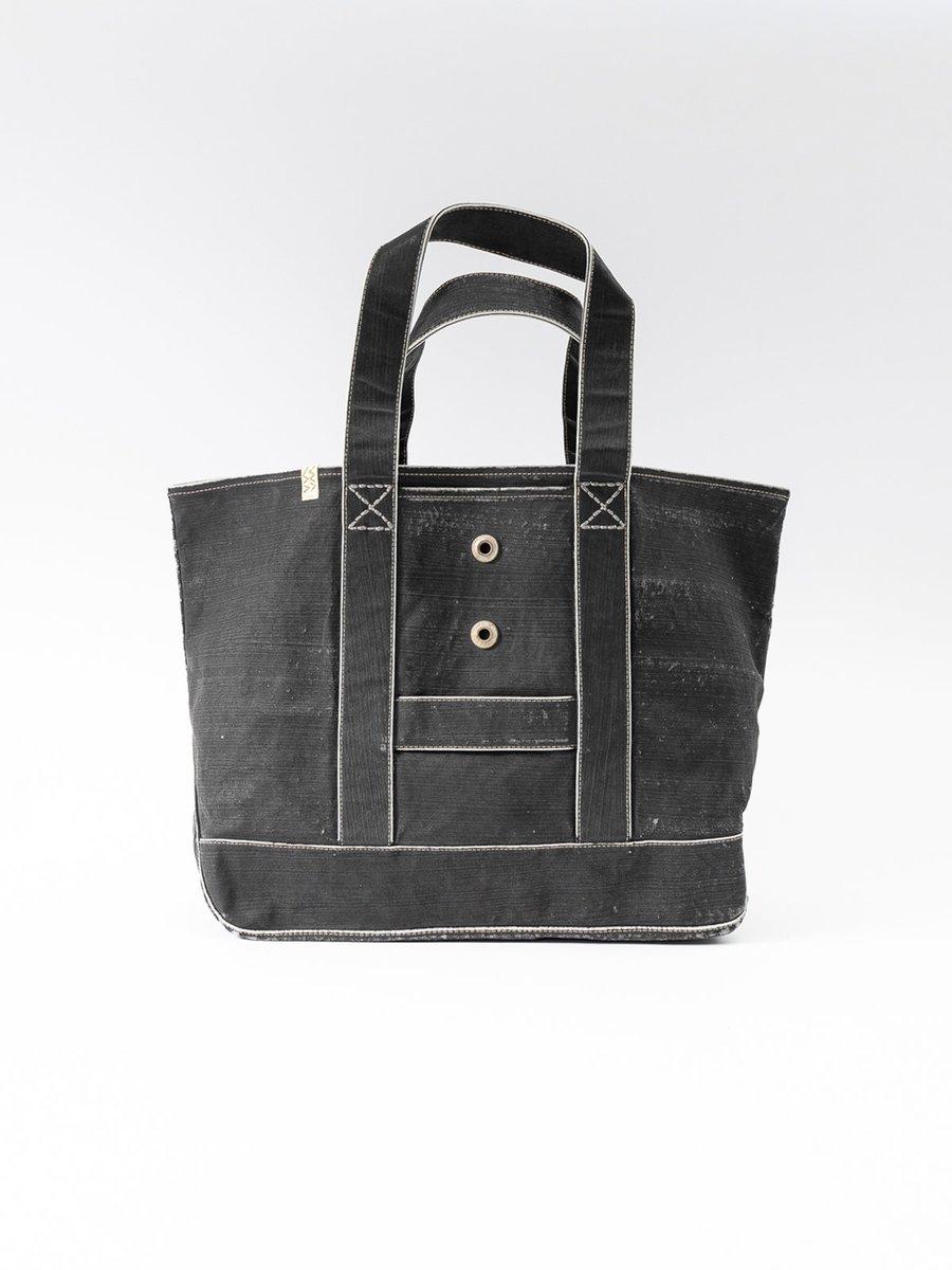 Black Canvas Homer Large Bag