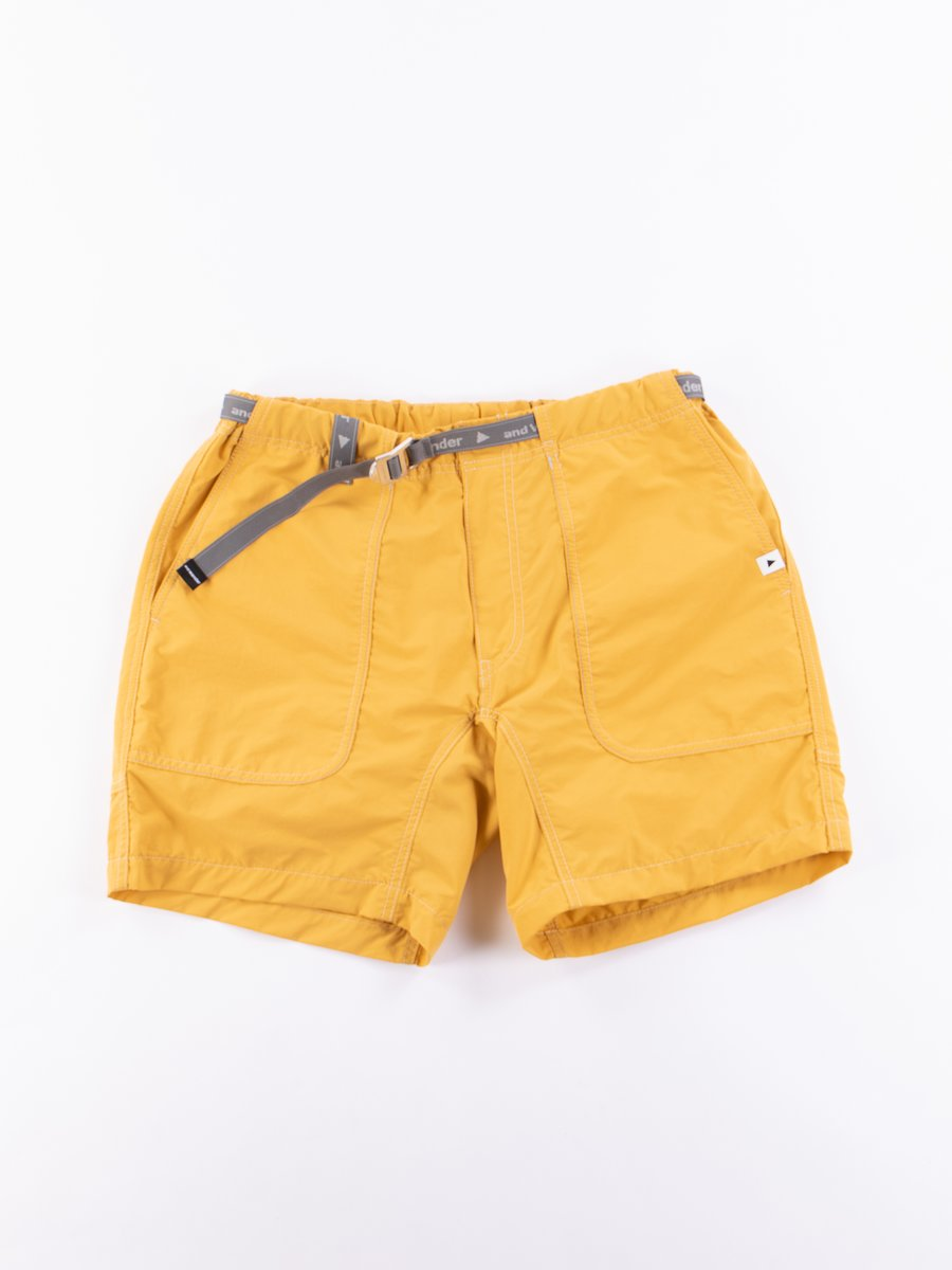 Yellow Nylon Climbing Short