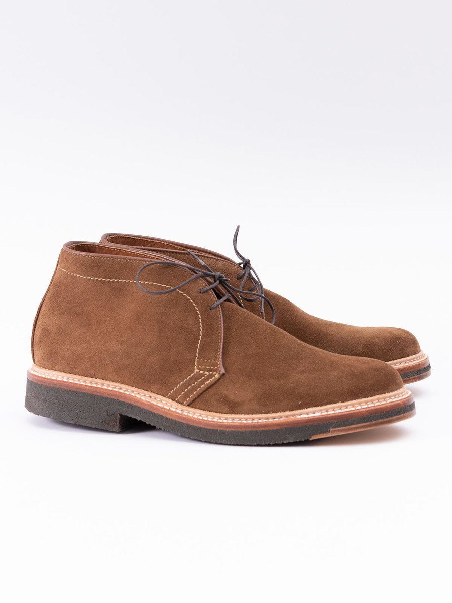 SNUFF SUEDE CHUKKA WITH CREPE SOLE