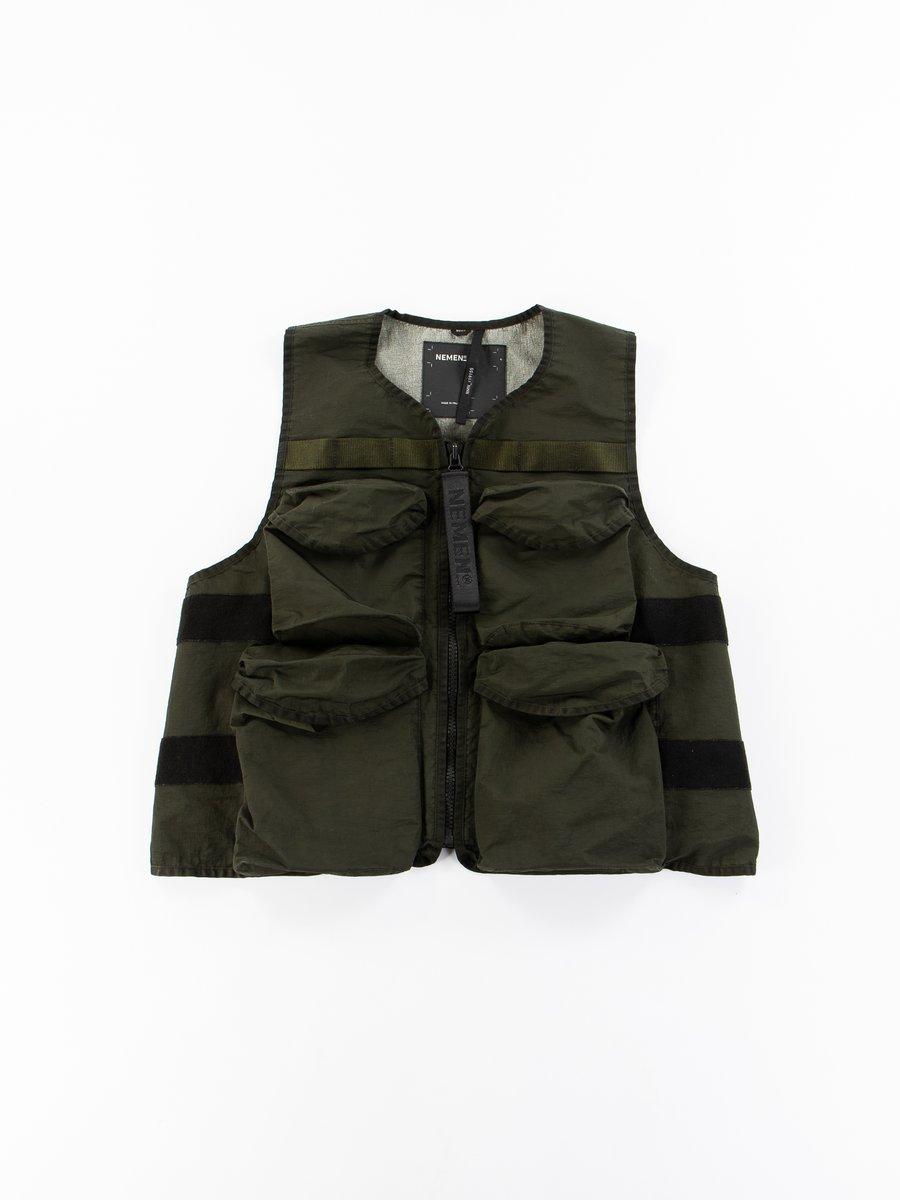 Military Green Guard Vest