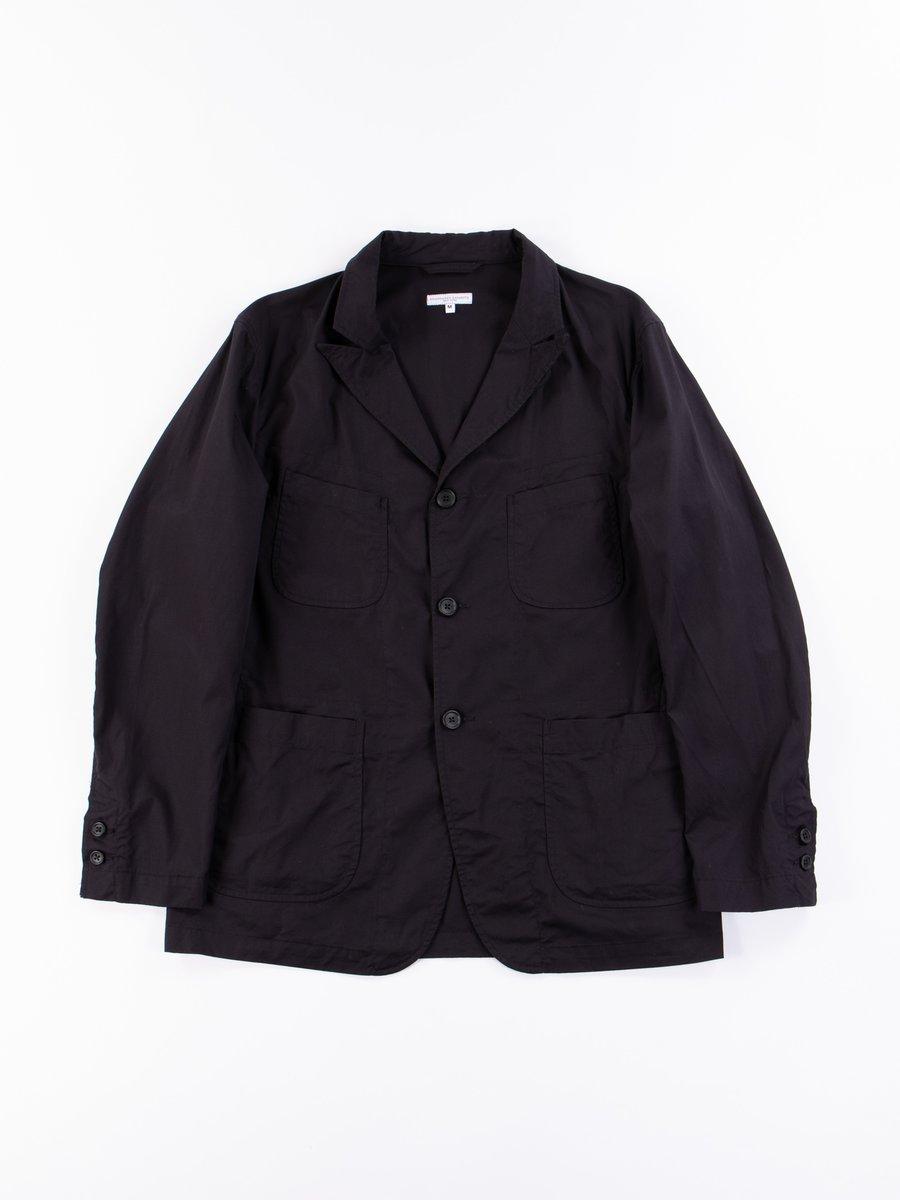 Black Highcount Twill NB Jacket