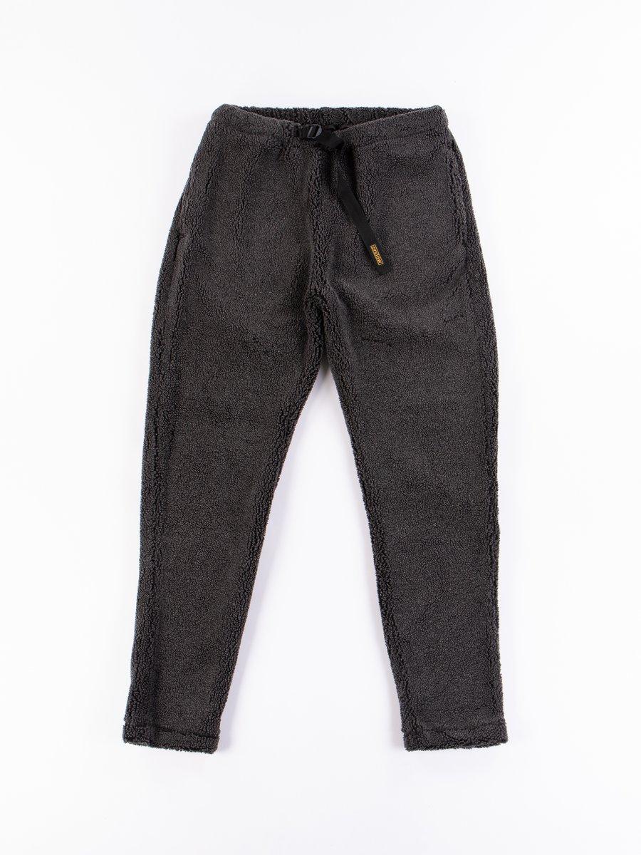Charcoal Grey Fleece New Yorker Pant