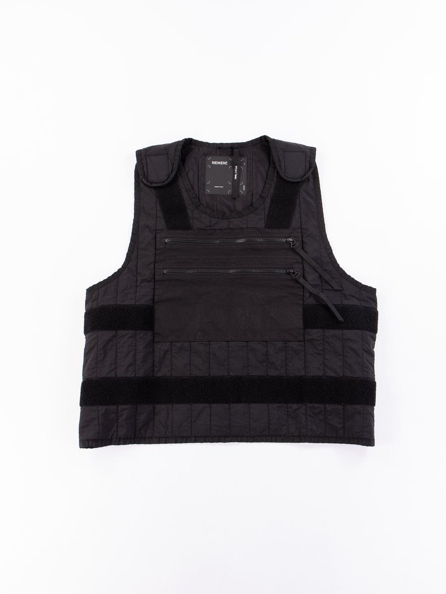 Black Crash Vest