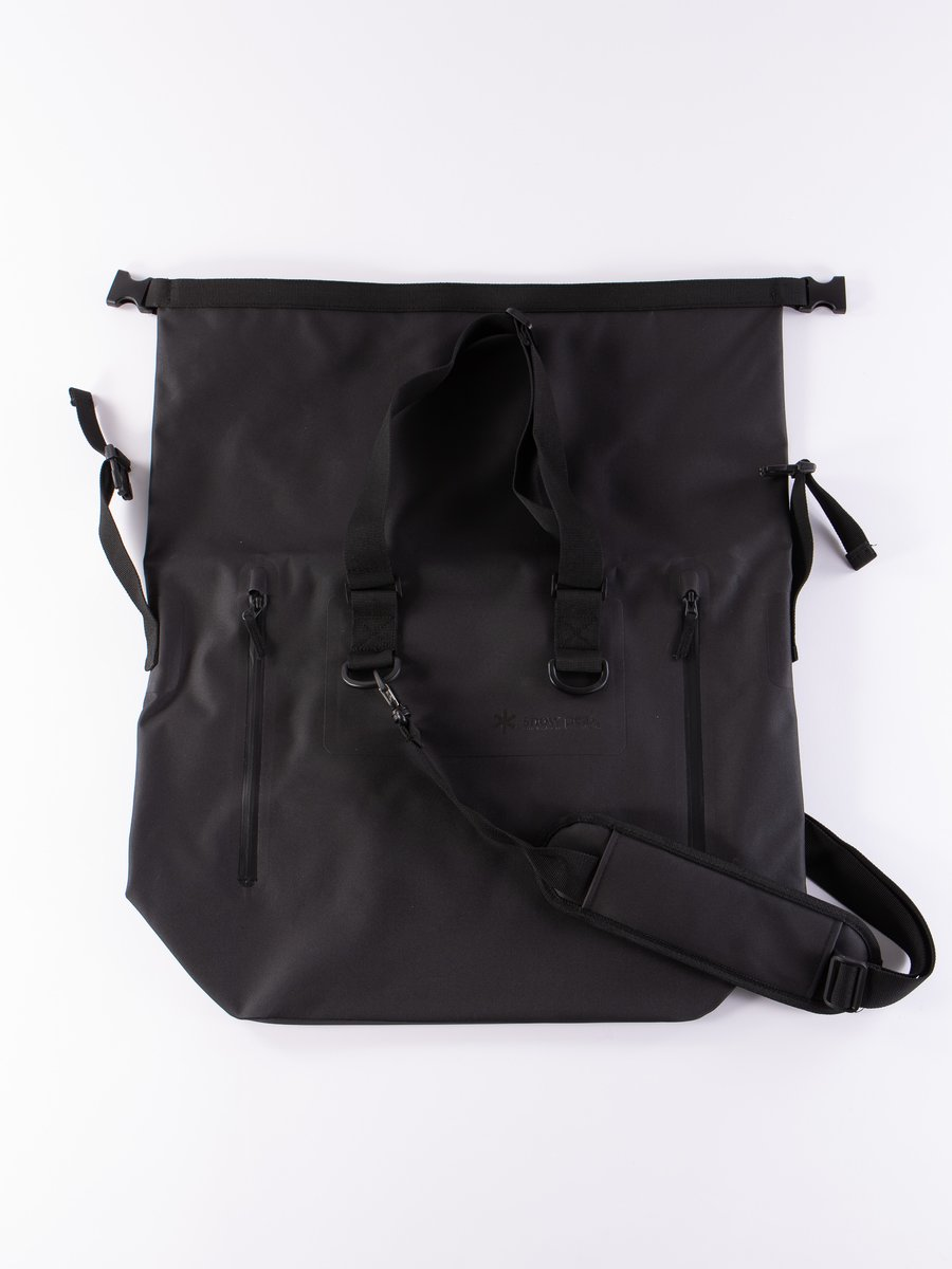 Black Large Dry Tote Bag