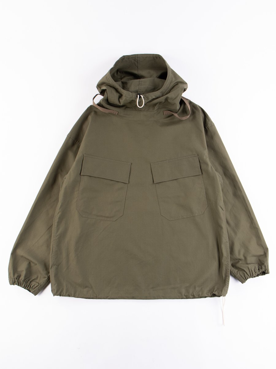 Olive Army Ripstop Salvage Parka
